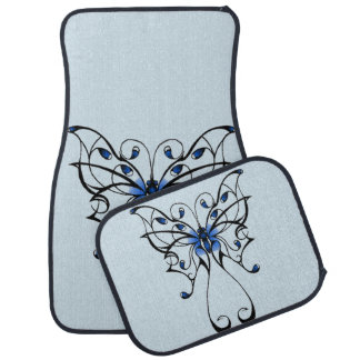 Butterfly Dance 2 Car Mat