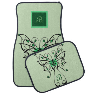 Butterfly Dance 3 Car Mat