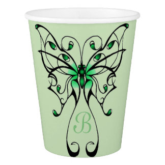 Butterfly Dance 3 Paper Cup