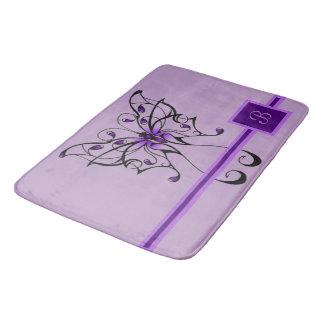 Butterfly Dance Bath Mat
