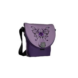 Butterfly Dance Messenger Bags