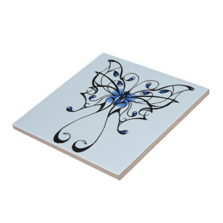 Butterfly Dance Tile