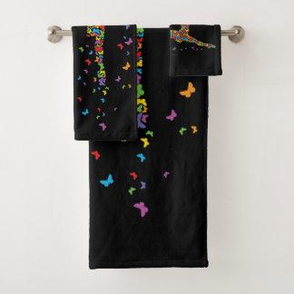 Butterfly Dancer Bath Towel Set