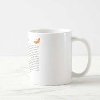 Butterfly Desiderata Coffee Mug=Daily Inspiration Coffee Mug