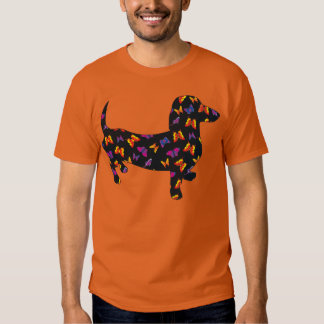 Butterfly Doxie Dachshund T-shirt