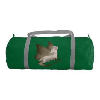 Butterfly Dragon Duffel Gym Bag 2