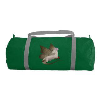 Butterfly Dragon Duffel Gym Bag 3