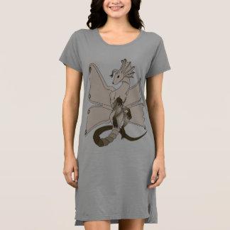 Butterfly Dragon T-shirt Dress