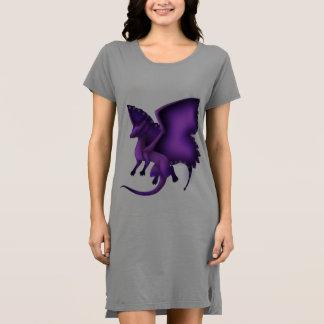 Butterfly Dragon T-shirt Dress 3