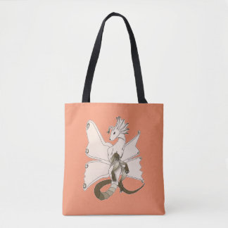 Butterfly Dragon Tote Bag 2