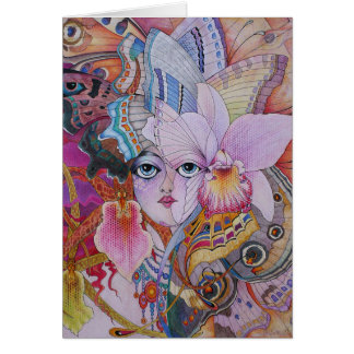 Butterfly Dream Card