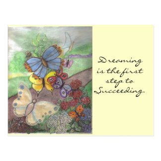 Butterfly Dreaming Postcard