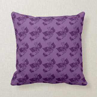 Butterfly Dreams Throw Pillow