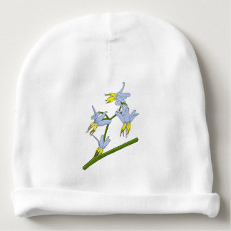 Butterfly Drinking Nectar Baby Beanie
