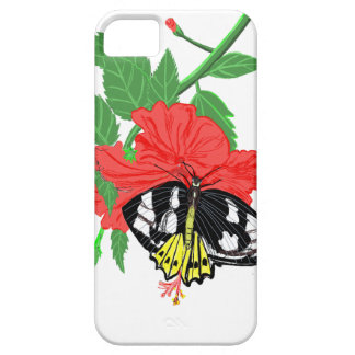 Butterfly Drinking Nectar iPhone 5 Case