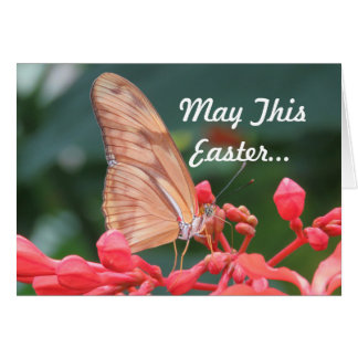 Butterfly Easter Greeting Card