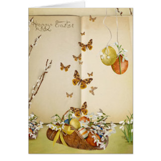 Butterfly Easter Greetings Card