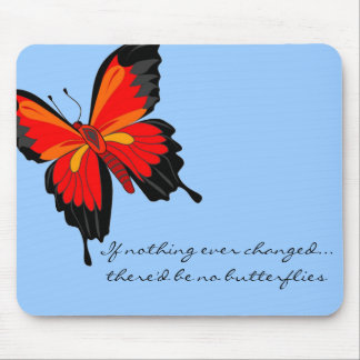 butterfly effect mouse pad