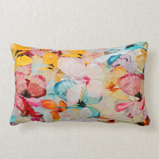 Butterfly exhibit lumbar pillow