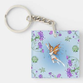 Butterfly Faerie Keychain