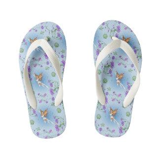 Butterfly Faerie Kid's Flip Flops