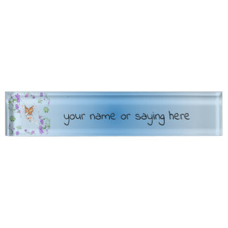 Butterfly Faerie Name Plate