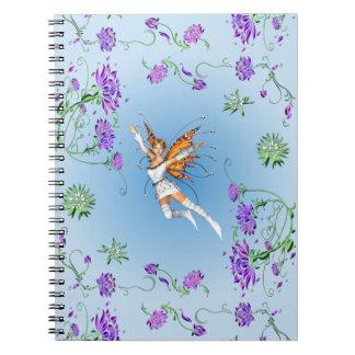 Butterfly Faerie Notebook
