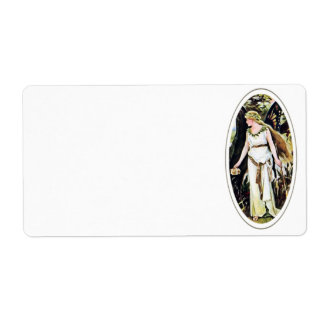 Butterfly Fairy Avery Label Shipping Label