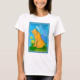 Butterfly Fairy Cat T-Shirt