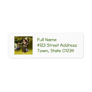 Butterfly Fairy Custom Return Address Labels