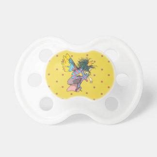 Butterfly Fairy Tale Elf Cute Cartoon Polka Dots Pacifier