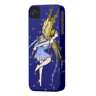 Butterfly Fairy w/Stars iPhone 4 Covers