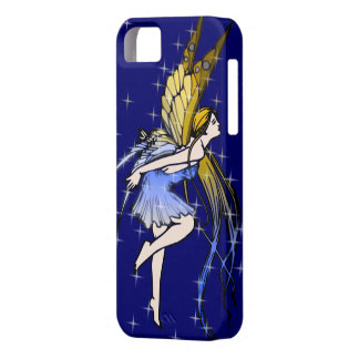 Butterfly Fairy w/Stars iPhone 5 Cases
