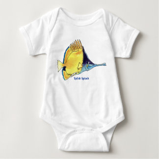Butterfly Fish Cartoon Fish Cute Infant Shirt