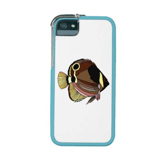Butterfly Fish Cover For iPhone 5