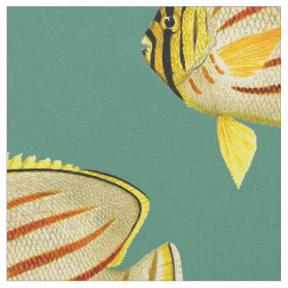 Butterfly Fish Fabric