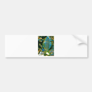 Butterfly Fish - Front facing Bumper Sticker