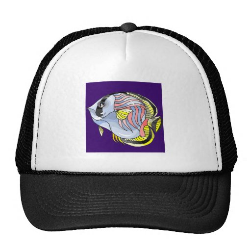 Butterfly Fish Mesh Hats