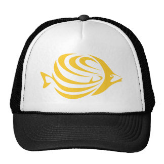 Butterfly Fish Trucker Hats