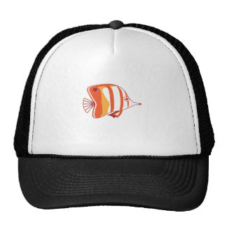 Butterfly fish trucker hats