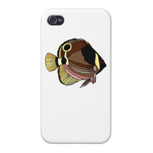Butterfly Fish Case For iPhone 4
