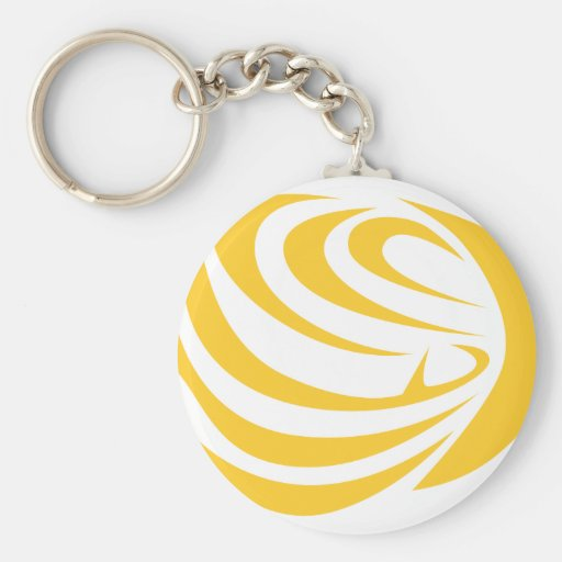 Butterfly Fish Keychain