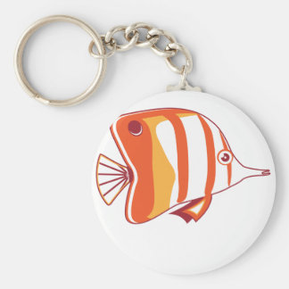 Butterfly fish key chains