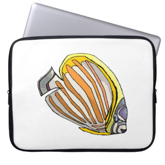 Butterfly Fish Computer Sleeves