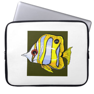 Butterfly Fish Laptop Sleeve