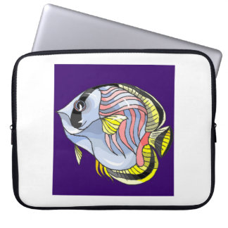 Butterfly Fish Laptop Computer Sleeves
