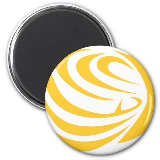 Butterfly Fish Fridge Magnets