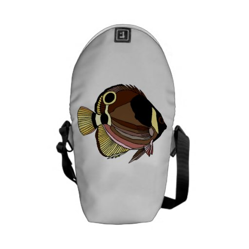 Butterfly Fish Messenger Bag