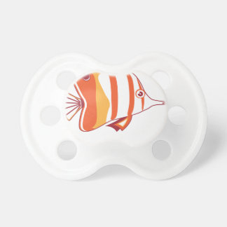 Butterfly fish pacifiers