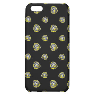 Butterfly-fish pern case for iPhone 5C